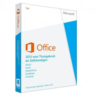Office 2013 HOME BUSINESS PKC (28 talen, EU)