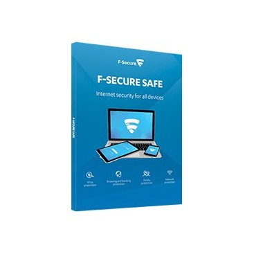 F-Secure SAFE (1 Year, 3 Device) (All Platforms)