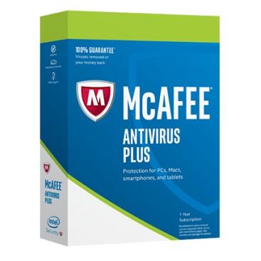 McAfee ANTIVIRUS PLUS 1 user 1 jr OEM