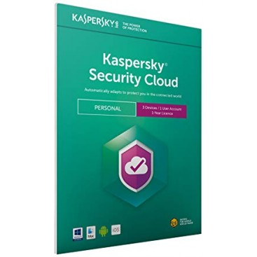 Kaspersky Security Cloud 2019 3 dev 1yr. RETAIL