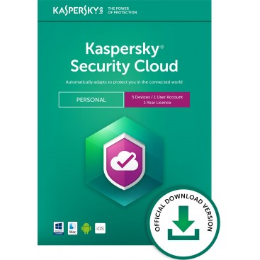 Kaspersky Security Cloud 2019 5 dev 1yr. RETAIL