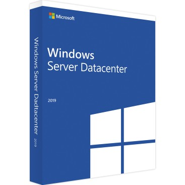 Windows 2019 server DATACENTER UK 64bits DVD OEM 16 CORE P71-09101