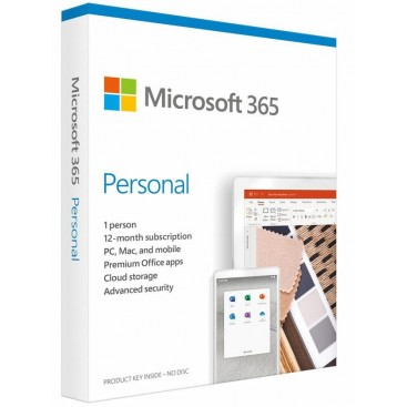 Office 365 PERSONAL 32/64b 1 PC/MAC or TABLET 1 jr PKC (28 talen, EU)