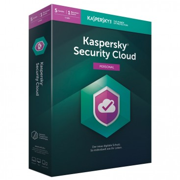 Kaspersky Security Cloud Family 5 devices 1jr. ESD online
