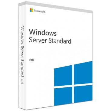 Windows 2019 server STD UK DVD OEM 24 CORE P73-07807